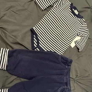 Gymboree Navy 2-pc. Outfit 3-6mo